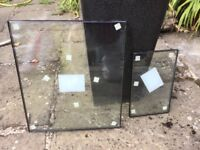 Double glazed window panels