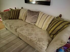 Large 5 seater sofa from MacDonald furniture in Glasgow