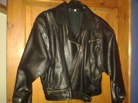 Genuine leather jacket in very good condition