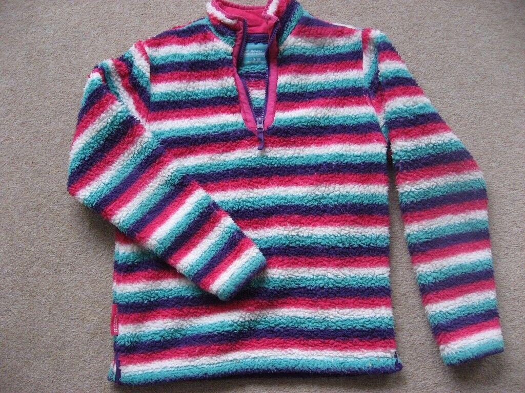 Girls Mountain Warehouse Chunky Fleece Top (Age 9-10)