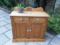 Rustic Pine Sideboard - Cabinet