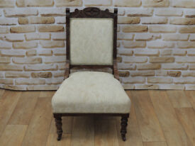 Antique armchair low seat (Delivery)