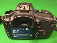 CANON EOS 7D 18MP DIGITAL SLR CAMERA & EF 50mm LENS - Low Usage - EOS7D