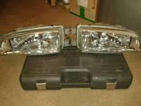 Subaru impreza classic crystal clear headlights 1998-2001
