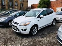 Ford kuga titanium 2.0 diesel 160 bhp 11 Reg fsh finance available px welcome very clean jeep