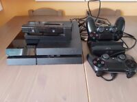 PS4 500 GB model CUH-1116A, 6 games including Lego Dimensions, 2 pads, docking station, camera