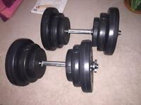 CrystalTec Dumbbells