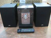 JVC UX-G100 Micro Component Hi-Fi System - Great Condition