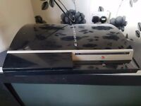 Fat 80gb ps3 with 5games no controller