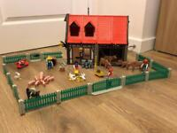 Playmobil Farm 3556 + Tractor