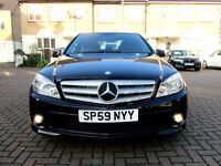MERCEDES C180 SPORT AUTOMATIC KOMPRESSOR BLUE-EFF 4 DR SALOON HPI CLEAR EXCELLENT CONDITION