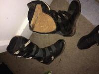 Wulf size 9 motor cross boots