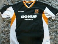 HULL CITY AWAY SHIRT VERY GOOD CONDITION SIZE XL