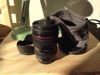 Canon 24-105 mm f4 L - excellent condition