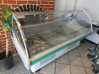 commercial counter refrigerator