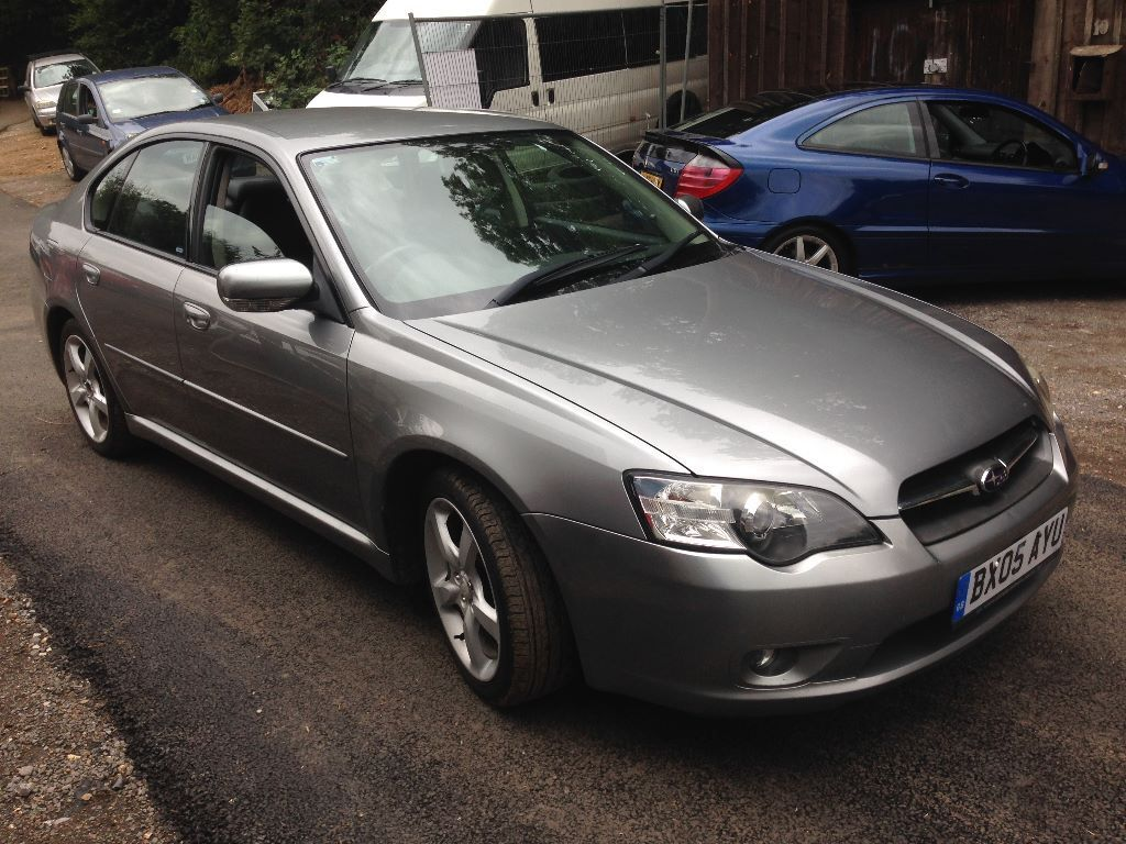 2005 subaru legacy grey mint condition low mileage