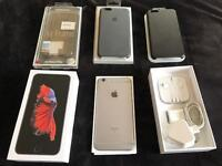 Mint Unlocked iPhone 6S Plus 64gb Space Grey with 3 cases