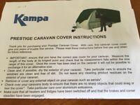 KAMPA Prestige caravan cover to fit upto 7.32m length