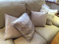 Four John Lewis cushions