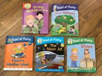 5 x Read at Home Oxford Reading Tree Hard Back Books, Read with Biff, Chip and Kipper