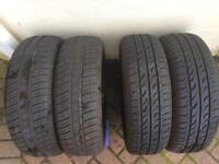 For sale 4-TIRES 175/65R14