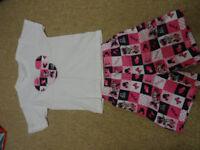 T-shirt + shorts girls set