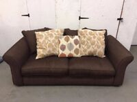 Brown 3 Seater couch in excellent condition