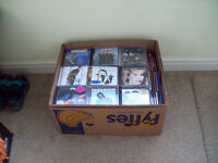 Box of approx 170 CD's