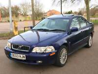 Volvo S40 2003reg Automatic 1.8se 5dr saloon 9Months mot FSH Great Runner Smooth