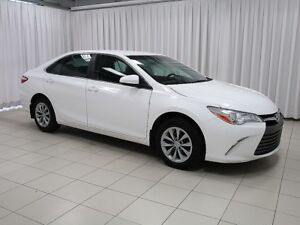 2017 Toyota Camry TOYOTA CERTIFIED LE SEDAN WITH HTD SEATS, BLUE