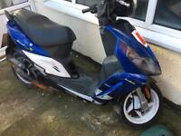 Sym jet sport 50cc two stroke moped