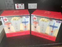 Popcorn movie set