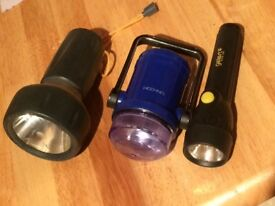 Selection of torches