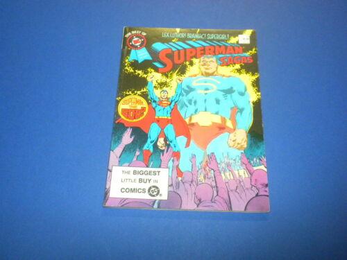 THE BEST OF DC BLUE RIBBON DIGEST #59 SUPERMAN 1985
