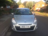 Immaculate 2010 Automatic* Renault Clio Expression VVT I*1.6L Petrol*45000miles*5drs*1 Year MOT