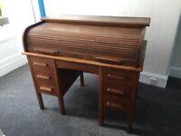 Beautiful 1925 Roll Top Desk