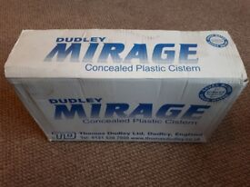Dudley Mirage Concealed Plastic Cistern Qty 15