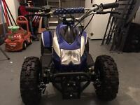 Mini ATV Quad Bike for Kids + Helmet (New)