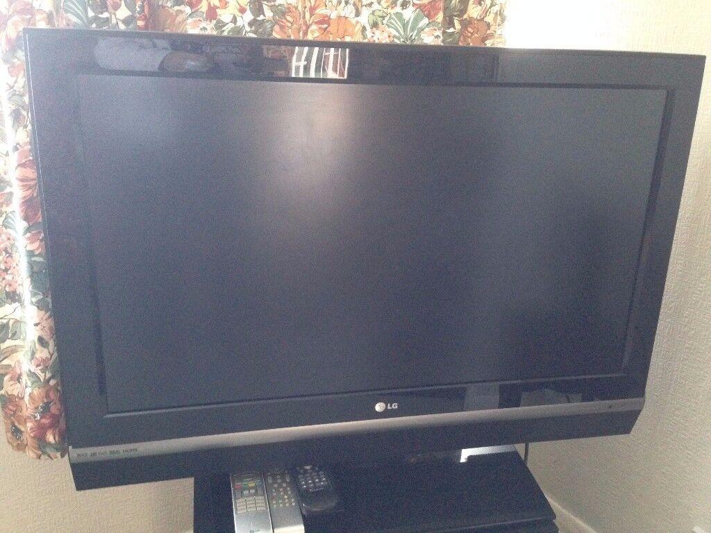 lg tv 37 inch. lg hd flatscreen television model 37lc2d 37 inch screen lg tv