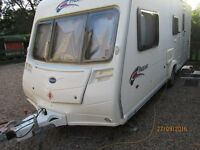2007 Bailey Pageant series 6 / 4 berth with MOTOR MOVER