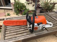 Stihl ms231 chainsaw, barely used.