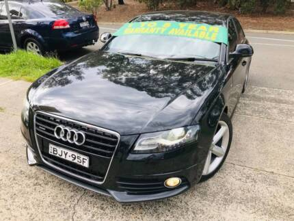 2009 Audi A4 TDi S Line Quattro 4x4 AWD TURBO DIESEL Luxury Sport Sutherland Sutherland Area Preview