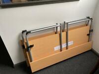 IKEA folding office desks