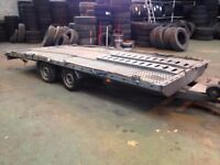 Car trailer Built by PRG Trailers