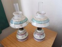 2 Paraffin Lamps