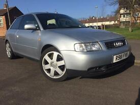 Audi A3, 1.6 Petrol, long MOT, special wheel + sun roof!