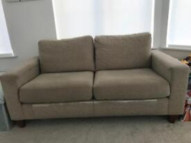 Beige 3 seater next couch