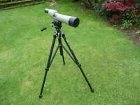 Opticron Spotting scope with tripod