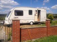 4 berth Bailey caravan