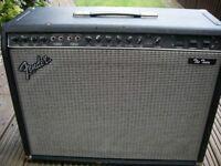 "Fender 'The Twin' all valve electric guitar amplifier - 100 watt 2 x 12"" combo - USA - '80s"